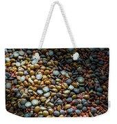 Split Pea Abstract Weekender Tote Bag