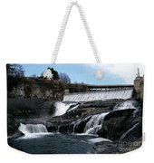 Spokane Falls At Low Tide Weekender Tote Bag