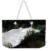 Spokane Falls In The Spring Weekender Tote Bag