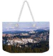 Spokane View 2-4-14 Weekender Tote Bag