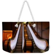 Spooky Escalator At The Brown Palace In Denver Weekender Tote Bag