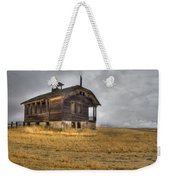 Spooky Old School House Weekender Tote Bag