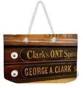 Spool Cases Weekender Tote Bag
