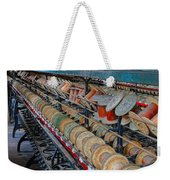 Spools At Lonaconing Silk Mill Weekender Tote Bag