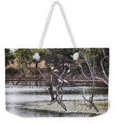 Spoonbill Gathering Weekender Tote Bag