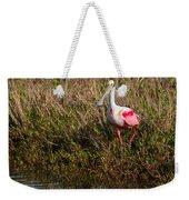 Spoonbill Island Hoping Weekender Tote Bag