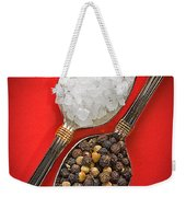 Spoonfuls Of Salt And Pepper Weekender Tote Bag