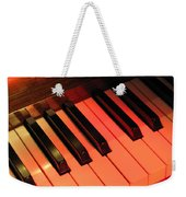 Spotlight On Piano Weekender Tote Bag