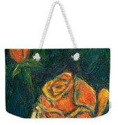 Spotlight Rose Weekender Tote Bag