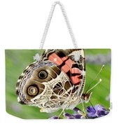 Spotted Butterfly Weekender Tote Bag
