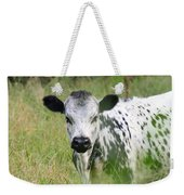 Spotted Cow In The Forest Weekender Tote Bag