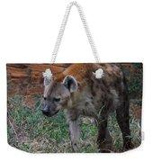 Spotted Hyena Weekender Tote Bag