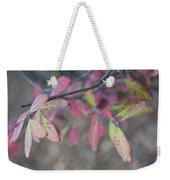 Spotted Leaves Weekender Tote Bag