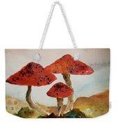Spotted Mushrooms Weekender Tote Bag