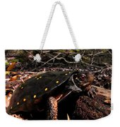 Spotted Turtle Weekender Tote Bag