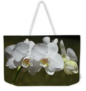 Spray Of Beautiful White Orchids Weekender Tote Bag