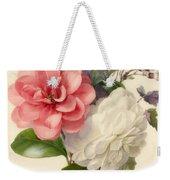 Spray Of Three Flowers Weekender Tote Bag
