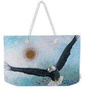 Spread Eagle Weekender Tote Bag