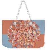 Spreeze Coral Weekender Tote Bag