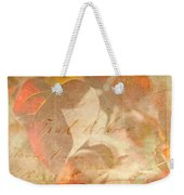 Spring Afternoon Sunlight Weekender Tote Bag
