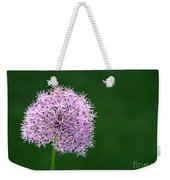 Spring Allium Weekender Tote Bag