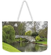 Spring And The River Cam Weekender Tote Bag
