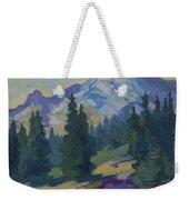 Spring At Mount Rainier Weekender Tote Bag