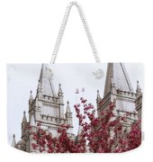 Spring At The Temple Weekender Tote Bag
