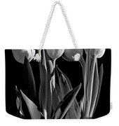 Spring Beauties Bw Weekender Tote Bag