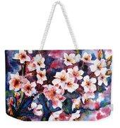 Spring Beauty Weekender Tote Bag by Zaira Dzhaubaeva
