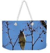 Spring Bird Singing Weekender Tote Bag