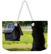 Spring Birdhouse Weekender Tote Bag
