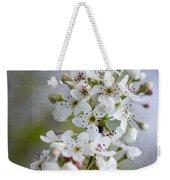 Spring Blooming Bradford Pear Blossoms Weekender Tote Bag