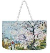 Spring Blossom Weekender Tote Bag by Henri Richet