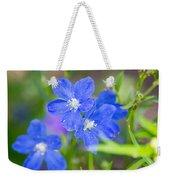 Spring Blue Weekender Tote Bag