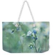 Spring Blues Weekender Tote Bag by Priska Wettstein
