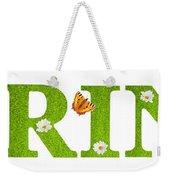 Spring Butterflies Weekender Tote Bag