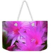 Spring Cactus Weekender Tote Bag