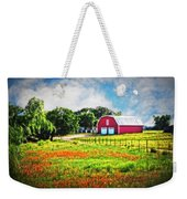 Spring Charm In The Hill Country Weekender Tote Bag
