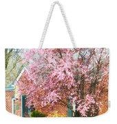 Spring - Cherry Tree By Brick House Weekender Tote Bag