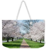 Spring Cherry Trees Weekender Tote Bag