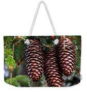 Spring Christmas Tree Weekender Tote Bag