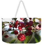 Spring Crabapple Blossom Weekender Tote Bag