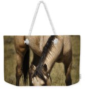 Spring Creek Basin Wild Horse Grazing Weekender Tote Bag