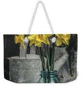 Spring Daffodil Flowers Weekender Tote Bag by Edward Fielding