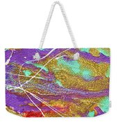 Spring Daydream Abstract Painting Weekender Tote Bag by Julia Apostolova