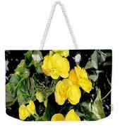 Spring Delight In Yellow Weekender Tote Bag