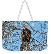 Spring Eagle Weekender Tote Bag