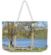 Spring Fed Shepherd Lake Weekender Tote Bag