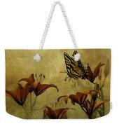 Spring Fever Weekender Tote Bag by Diane Schuster